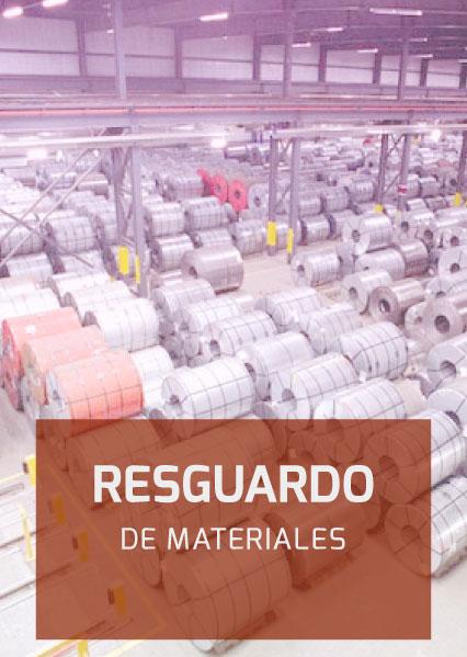 Aplicaciones Industriales Resguardo de Materiales
