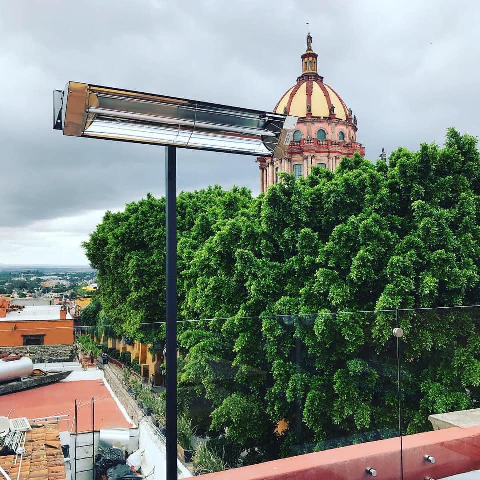 Tres Marias Terraza San Miguel De Allende Calefacción Radiante
